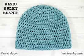 Bulky Yarn Crochet Hat Patterns Stunning Basic Bulky Beanie Charmed By Ewe