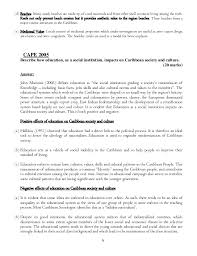 caribbean studies model essays 9