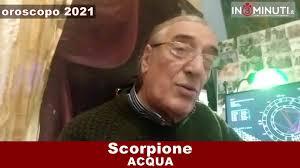 OROSCOPO 2021 ACQUA, Cancro, Scorpione, Pesci, di Alfonso Bellavia 📹VIDEO