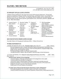 Best Resume Summary Resumes Images On Statement For Supervisor