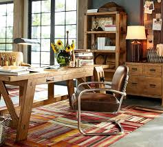 pottery barn office desk. Hendrix Large Smart Technology™ Desk | Pottery Barn; Desk, Bookcase, And Lateral Barn Office