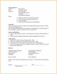 Cv Template For Student First Job Sample Curriculum Vitae 2 638 Cb