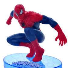 7pcs Spiderman Spider Man Action Figures Cake Topper Boy Kidstoy Set