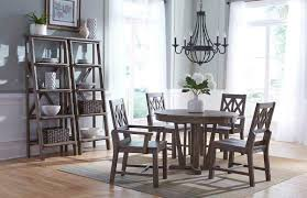 weathered wood dining table. Round Dining Table Weathered Wood I