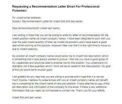 asking for a letter of recommendation email recommendation letter email request for a job sample just letter