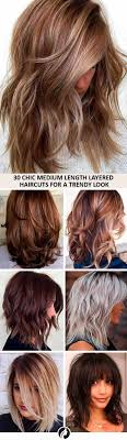 39 Chic Medium Length Layered Haircuts For A Trendy Look