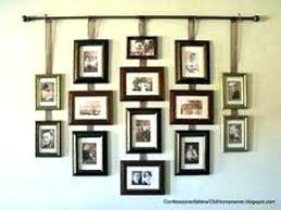 hanging things on walls without nails how to put photo frames on wall without nails hang