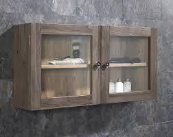 grey wash assembled solid oak glass