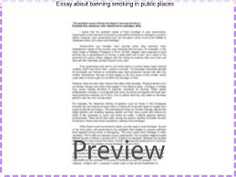 essay about banning smoking in public places term paper help essay about banning smoking in public places smoking in public places smoking banned in public