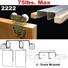 2222 sliding bypass door hardware