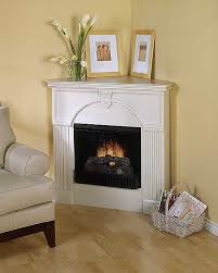 corner fireplace update and decorating ideas for the mantel with a tv above it