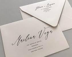 Envelope Wedding Wedding Envelope Etsy