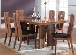 dining room tables sets teak wood solid canada amazing table set dining