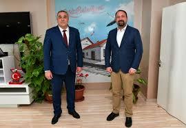 Utku Gümrükçü - Konya Tuzlukçu Belediye Başkanı Sayın Nurettin Akbuğa'ya  nazik ziyaretleri için teşekkür ediyor, Konya ve Tuzlukçu'lu  hemşehrilerimize selamlarımı yolluyorum.