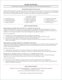 What To Put As An Objective On A Resume Hr Resume Objective Resume