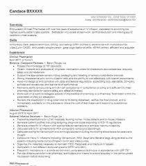 Clinical Pharmacist Resume Professional Pharmacist Resume Sample ...