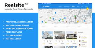 real state template realsite material real estate template by aviators themeforest