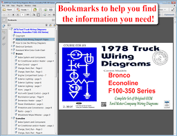 fordmanuals com 1978 ford truck wiring diagrams (f100) (cd rom) 1959 Ford F100 Ignition Wiring Diagram 1978 ford truck wiring diagrams (bronco, econoline, f100 350 series) Ford Ignition System Wiring Diagram