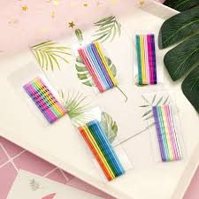 <b>10pcs</b>/<b>Set 6cm</b> Hair Clips For Women Hairpins Colorful Metal ...