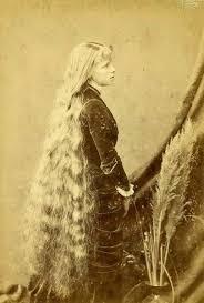 pioneer woman 1800s hair. very long haired victorian girl pioneer woman 1800s hair