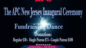 pictures of flyers invite of mayoral inauguration grand apc nj inauguration and dance all roads lead to new jersey