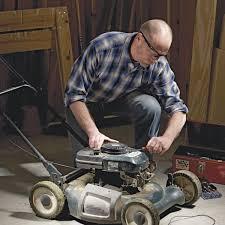 lawn mower repair broken cord diy