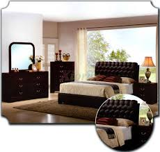 Bedroom Furniture Set Upholstered Bedroom Furniture Set W Tufted Headboard Beds 162 Xiorex
