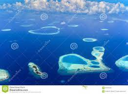 Isole Nell'atollo Di Belato, Oceano Indiano Immagine Stock - Immagine di  isola, sabbia: 63507533