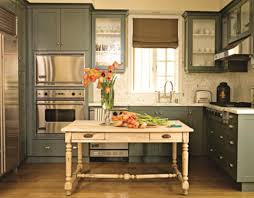 Green Color Kitchen Cabinets Awesome Vintage Kitchen Cabinet Ideas With Green Colors Kitchen
