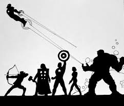 Latest and final instalment in the marvel <b>movie silhouette</b> series I'm ...