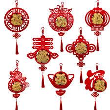 Spring Festival Three Dimensional New Years Lantern Hanging Decoration Spring