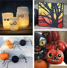 28 Homemade Halloween Decorations - if you are looking for crafty ways to  decorate for Halloween