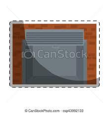 open garage door icon image csp43992133