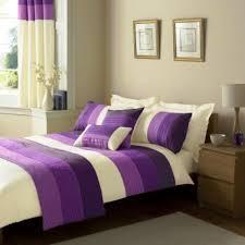 cream purple duvet set home decor ideas king size