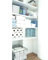 linen closet storage ideas bathroom organization classy inspiration f organized closets no