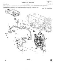 Chevy Cooler Line System Diagram