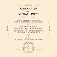 Vintage Invitation Template Extraordinary Invitation Card With Monogram Wedding Invitation Save The Date