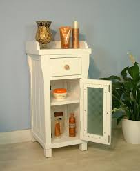small storage cabinet corner for bathroom with glass doors on wheels