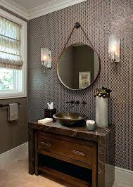 copper penny tile backsplash penny tile designs that look like a million  bucks powder room with . copper penny tile ...