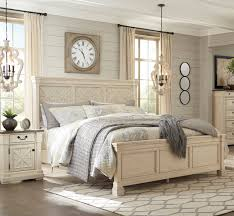 Ashley Furniture Bolanburg White 2pc Bedroom Set With Cal King Bed