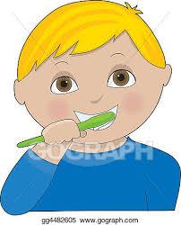 brushing teeth drawing. Beautiful Brushing Boy Brushing Teeth On Drawing N