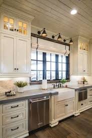 white kitchen counter.  Kitchen Off White Kitchen With Grey Quartz Countertop The Surrounding Countertops  Are Grey Expo Quartz Offwhitekitchenwithgreyquartzcountertop Alicia Zupan  Throughout White Kitchen Counter