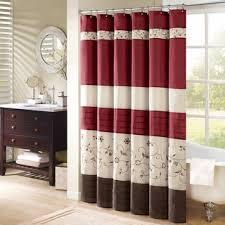 burgundy shower curtain sets. shower curtains - shop the best deals for nov 2017 overstock.com vibrant fabric bath burgundy curtain sets i