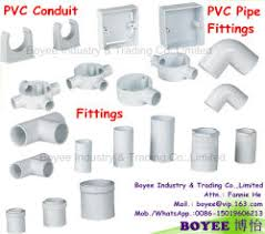 Conduit Fittings Chart China Pvc Conduit Fittings Pvc Conduit Fittings