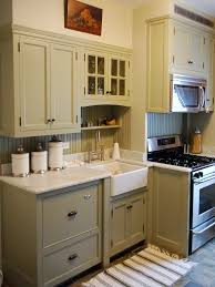 Sage Green Painted Kitchen Cabinets Of Cool Walls And White