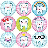 Teeth Cleaning Sticker Chart Tooth Brushing Schedule Reward Chart With Stickers Amazon