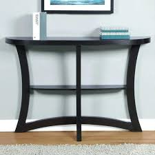 nice half moon accent table with best console ideas only on home for hallway black nz best half moon console table