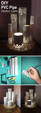 diy pipe lighting. DIY PVC Pipe Lights Diy Lighting N