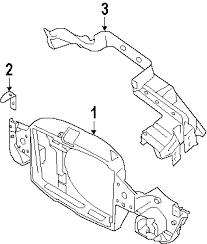 com acirc reg mini cooper radiator support oem parts 2006 mini cooper s l4 1 6 liter gas radiator support