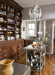 united states stainless steel kitchen with eclectic buffets and sideboards kitchen open shelving glassware